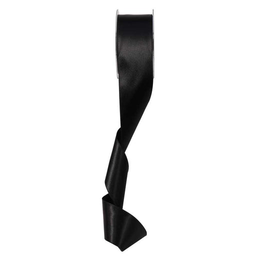 Satin Ribbon - 50mm - Black