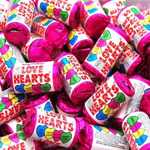Sweets Party Swizzels Mini Love Hearts