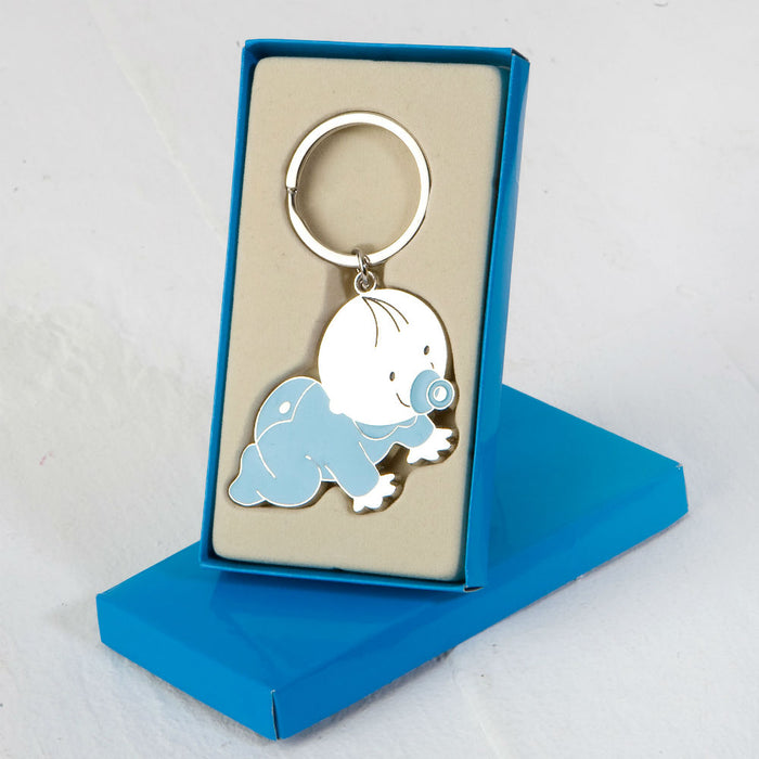 Blue Pit Keyring in Gift Box