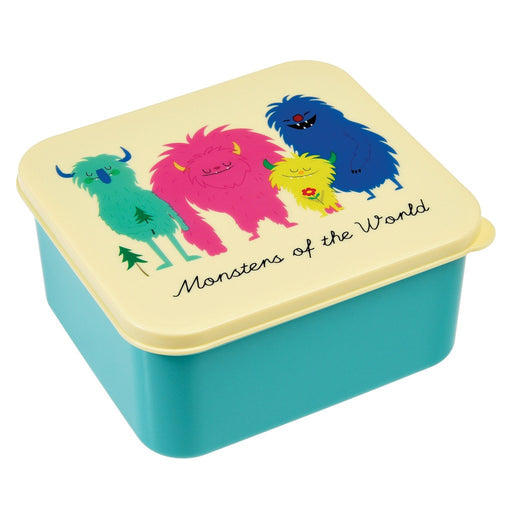 Monsters of The World - Lunch Box