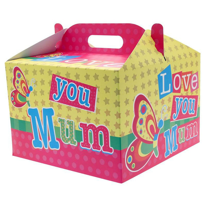 Mum Carry Handle Balloon Box