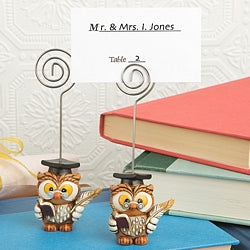 Wise Graduation Owl Place Card Holder - DC