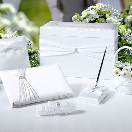 Wedding Accessory Set in White