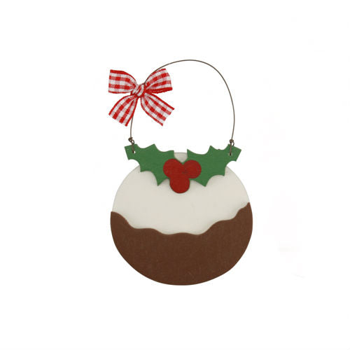 Christmas Pudding Hanging Decorations