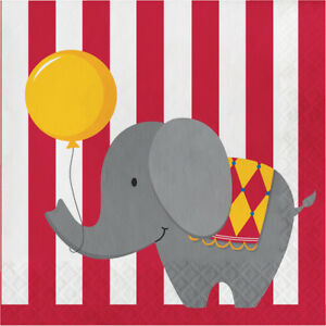 Circus Time Napkins