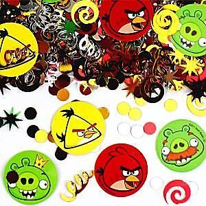 Party Angry Birds Table/Invite Confetti