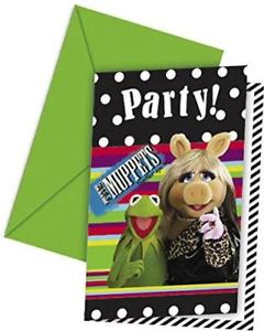 Muppets Invites - Party Invitation Cards