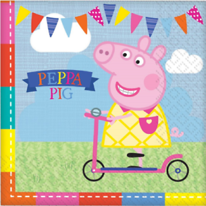 Lunch Napkins - Peppa Pig - 16pk