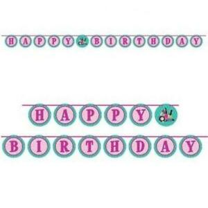 Sparkle Spa Party! Ribbon Banner With Stickers