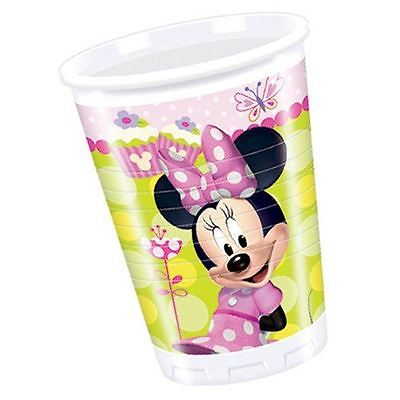 Minnie Mouse Plastic Party Cups 200Ml