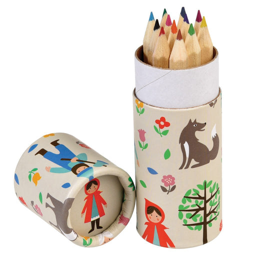Red Riding Hood - Colouring Pencils -Set of 12