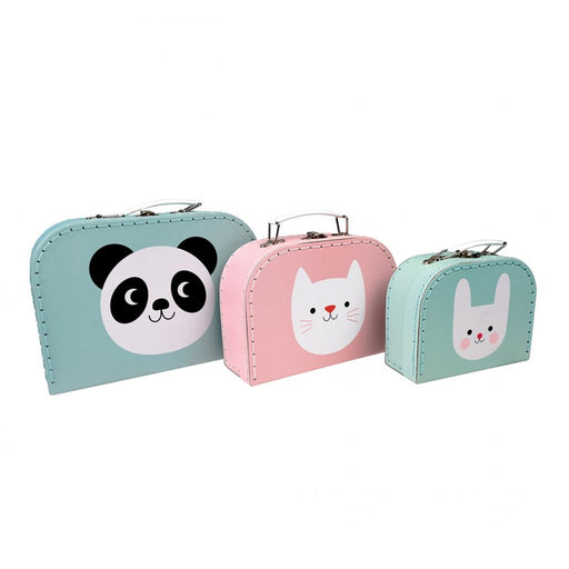 Miko The Panda And Friends - Storage Cases (set Of 3)