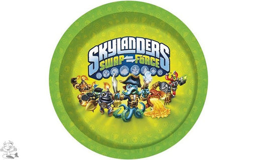 Skylanders Lunch Party Plates
