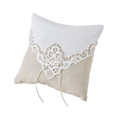 Country Lace - Ring Pillow