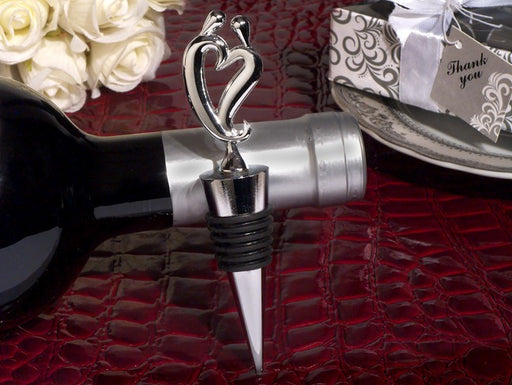 Chrome Metal Wine Stopper