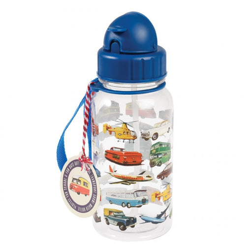Vintage Transport Kids - Water Bottle