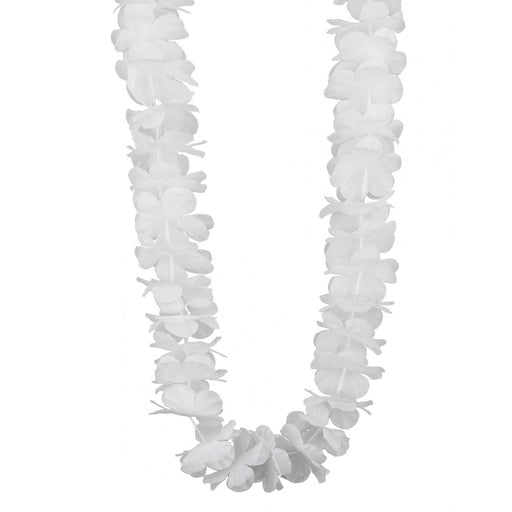 Hawaiin Garland White 9Cm