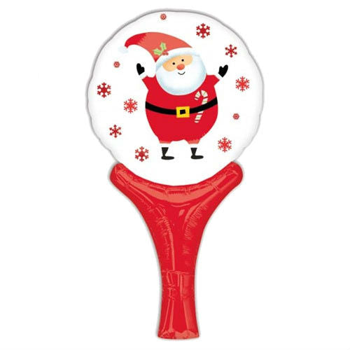 Balloon - Handheld - Santa Clause - 12''