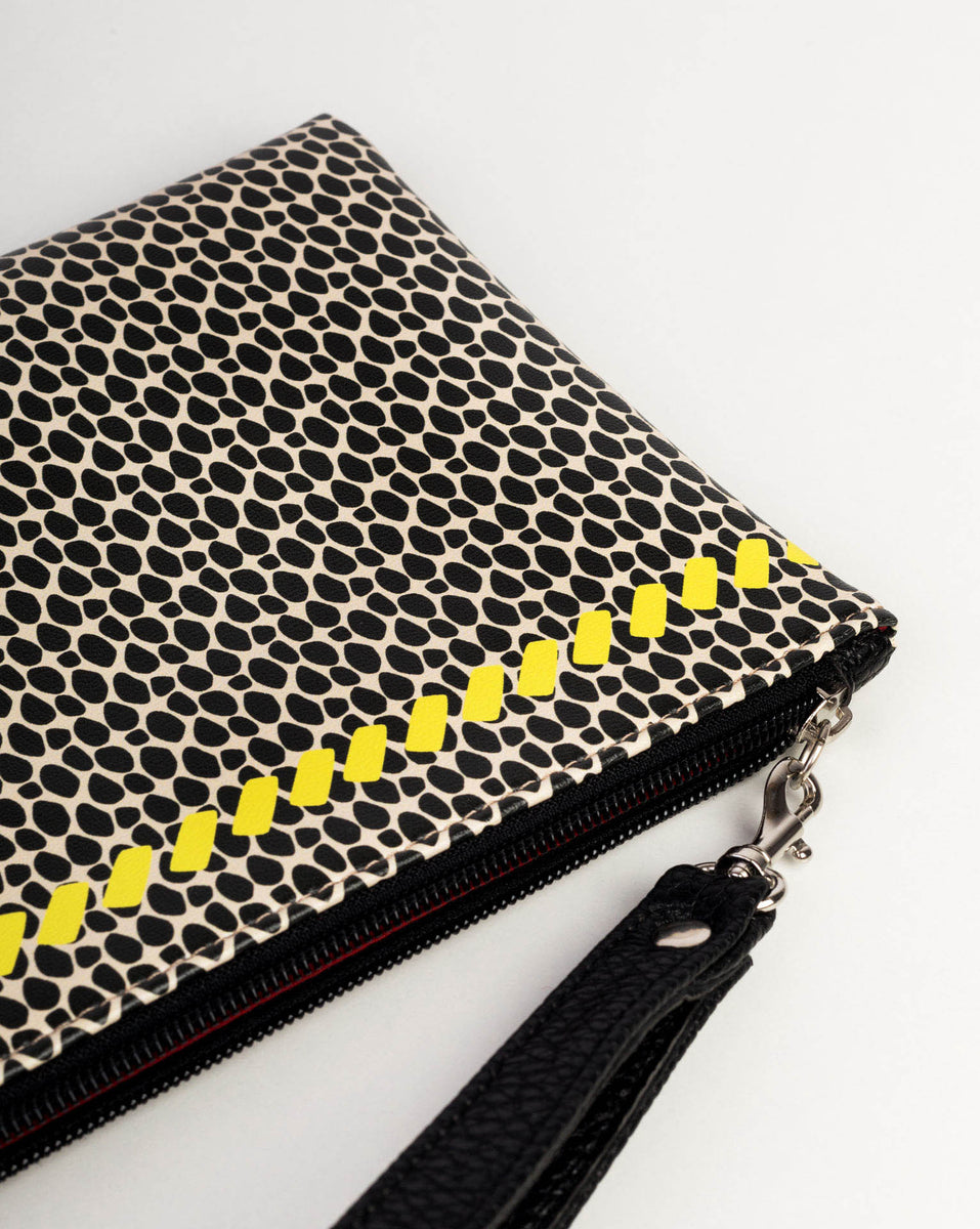 4587277b7 HOP SNAKE BG CLUTCH | Buy Unique Handmade & Limited Edition Clutches –  Forever is Boring
