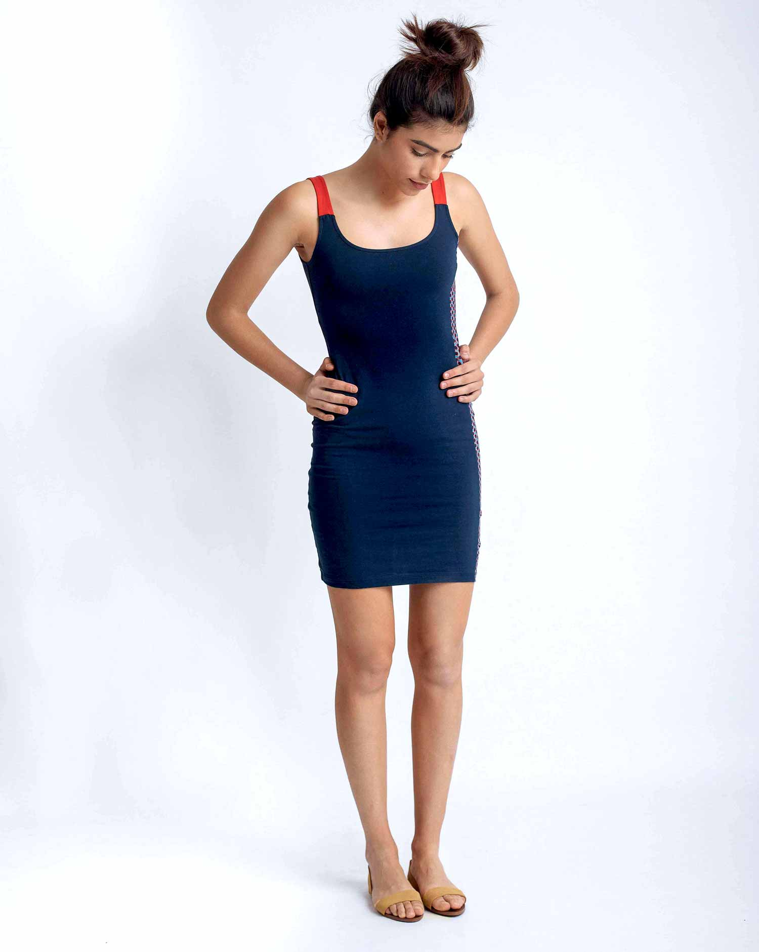 SHORT DRESS VC36TU3 TURTLE RD - 3