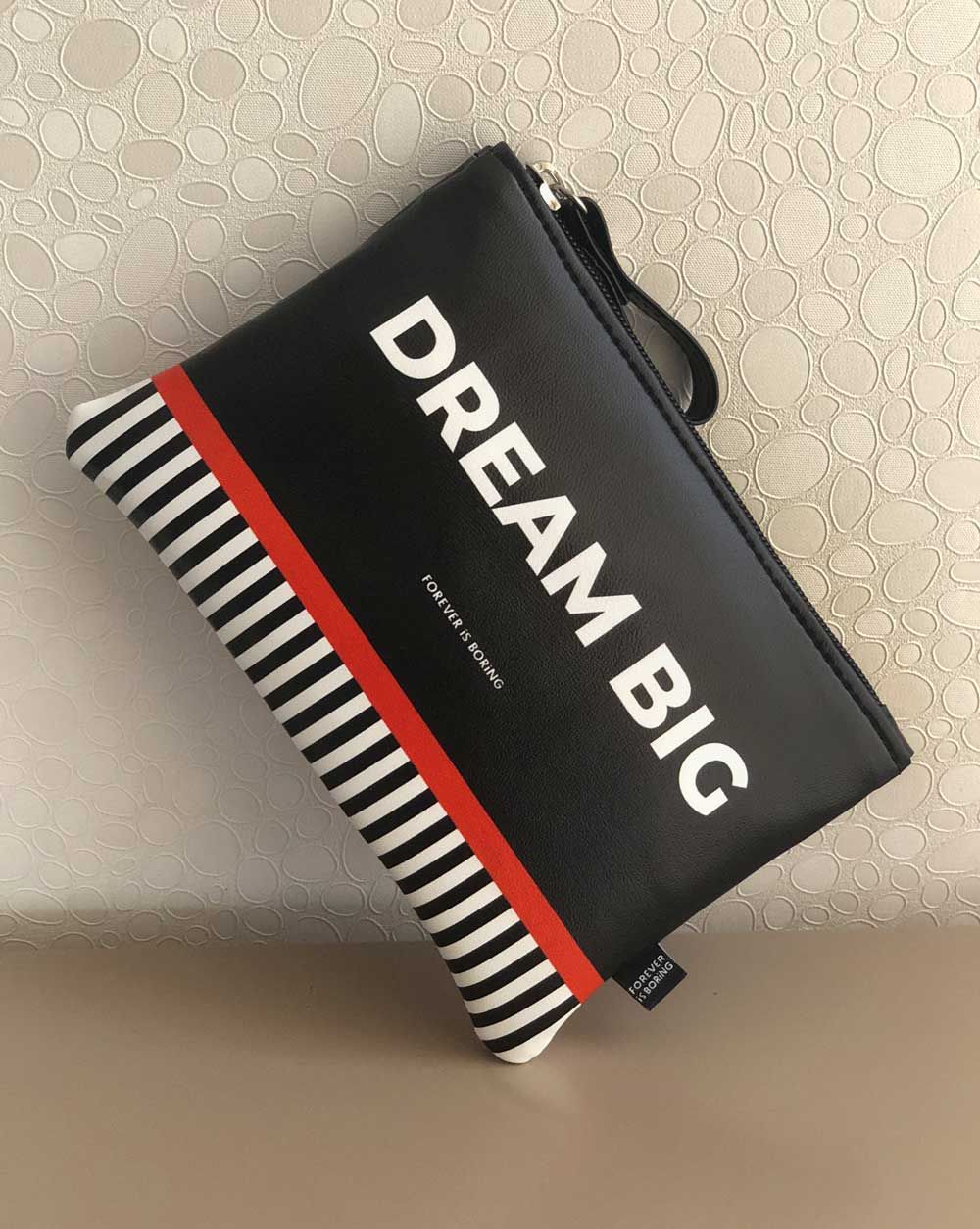 pouch bolsa dream big makeup bag free shipping