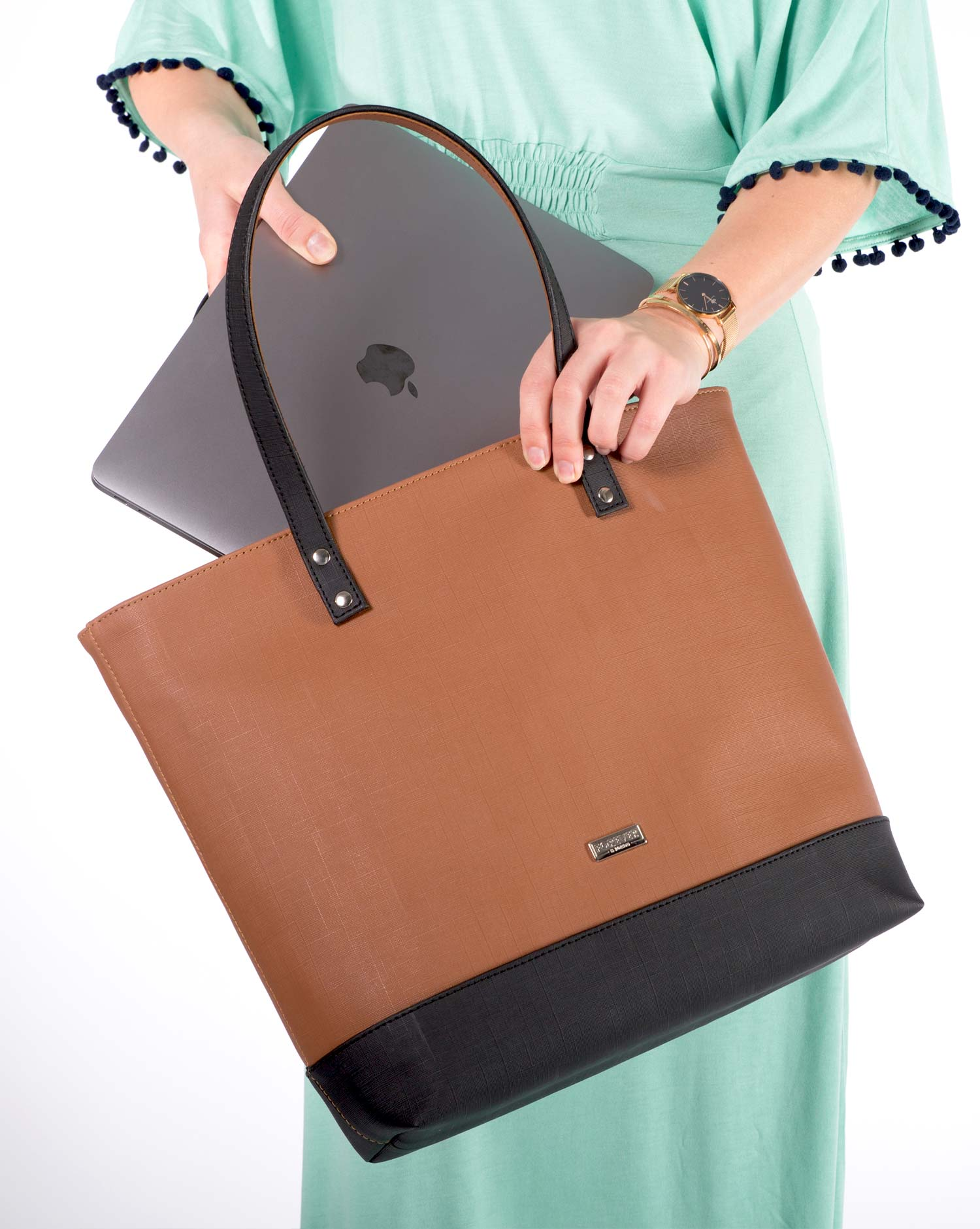 My Way Tote Bag Mala Bolso Caramel 2
