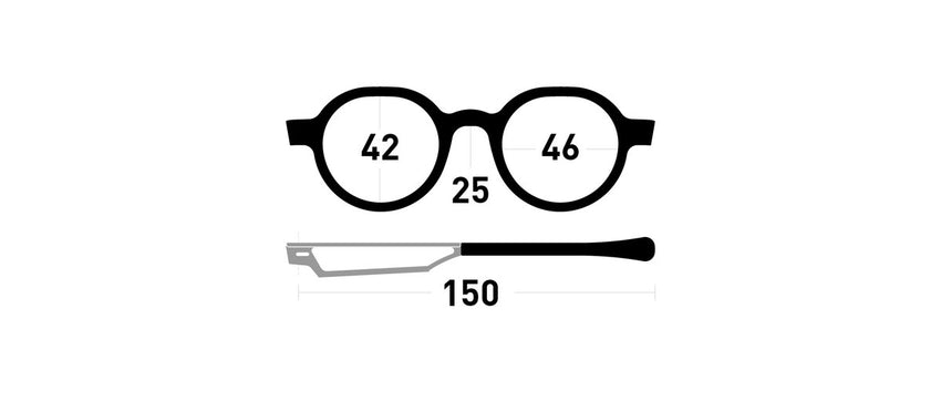 Cinematiq Eyewear Rank size guide