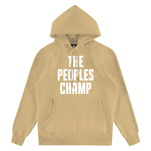 THE PEOPLES CHAMP SAND HOODIE