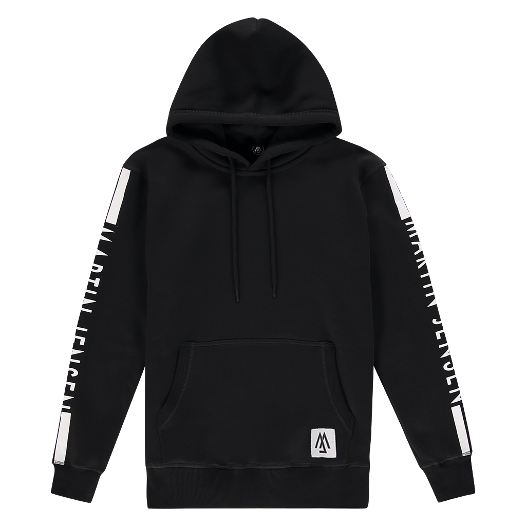 WORLD COLLECTION BACK LOGO HOODIE BLACK