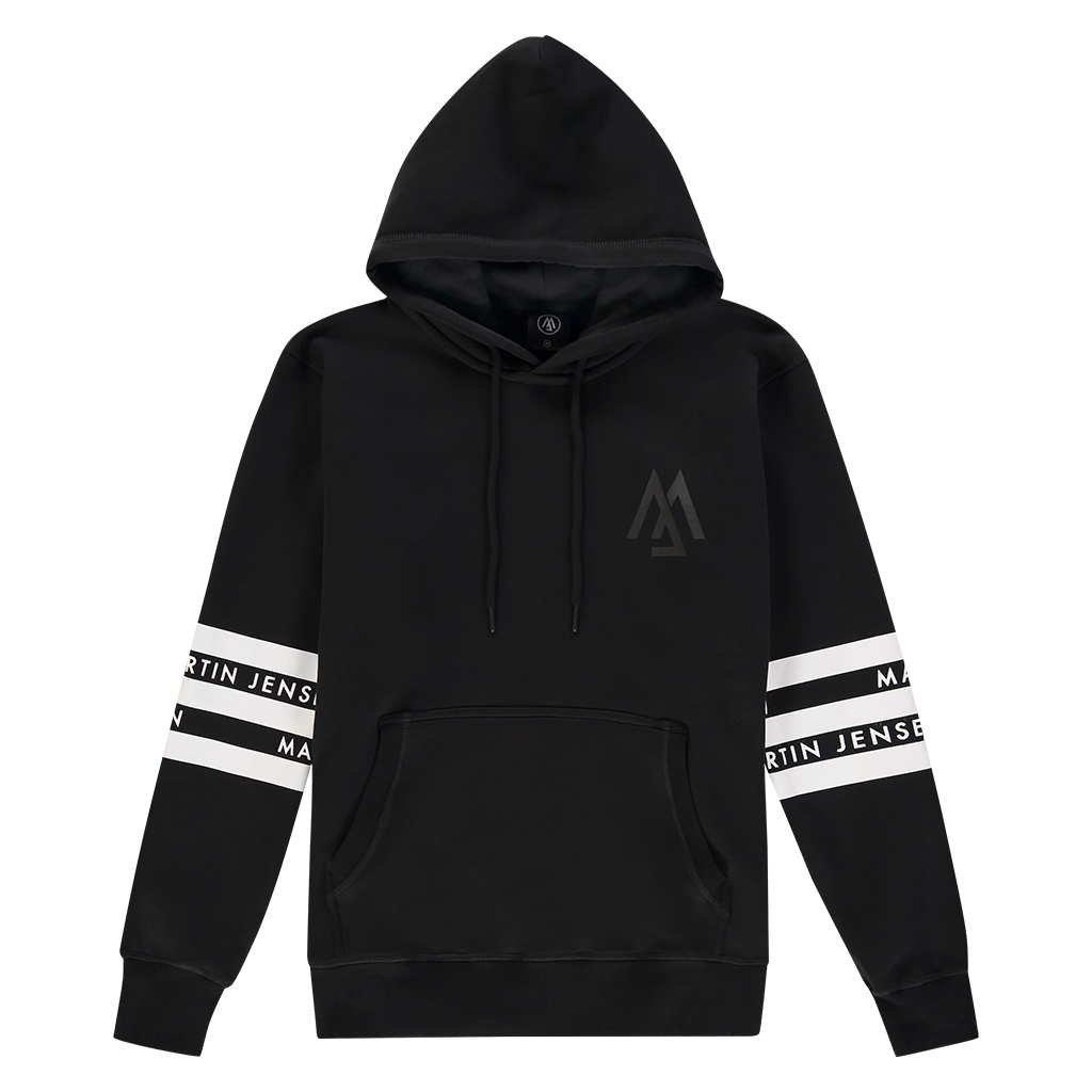WORLD COLLECTION LOGO HOODIE BLACK