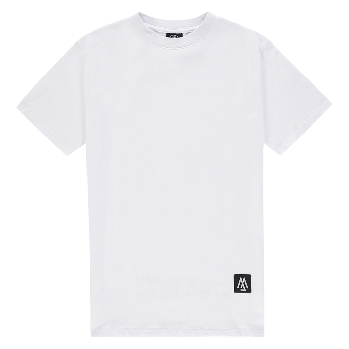WORLD COLLECTION BACK LOGO WHITE TEE