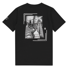 BLACK GRAPHIC TEE