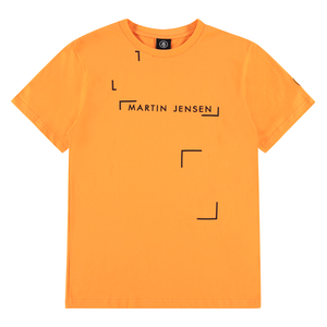 ORANGE GRAPHIC TEE