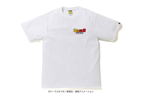[L~XL] DS! Bape Dragon Ball Z Baby Milo ASNKA Tee White