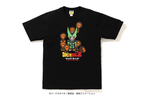 [L] DS! Bape Dragon Ball Z Baby Milo Cell and Cell Jr. Tee Black
