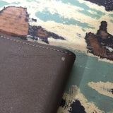 WTaps x Rock Steady x Porter Leather Book Cover Brown