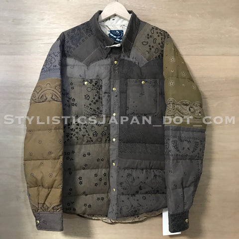 DS! Visvim ICT Kerchief Down Jacket N.D. Mud 4 XL