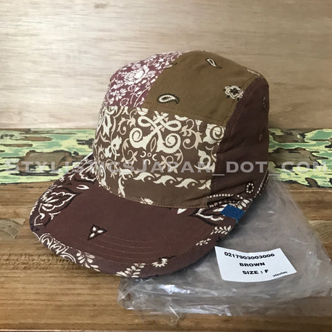 DS! Visvim ICT Bandana Camp Cap N.D. Mud