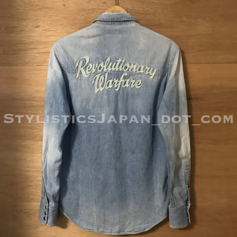 [S] WTaps Revolutionary Warfare Allman Denim L/S Shirt Indigo