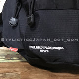 WTaps x Porter Readypack 2nd Gen. DELTA (Hip Up) Ripstop Waist/Shoulder Bag Black