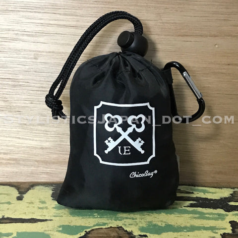 DS! Uniform Experiment x Chico Bag Packable Eco Bag Black