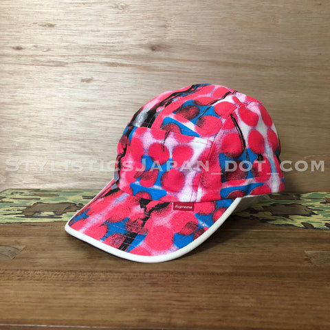 Supreme x Rammellzee 5 Panel Camp Cap Pink