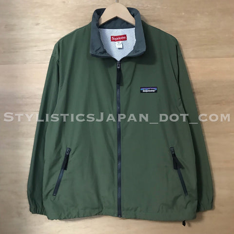 Supreme Vintage 'Patagonia' Nylon Zip-up Jacket Olive M