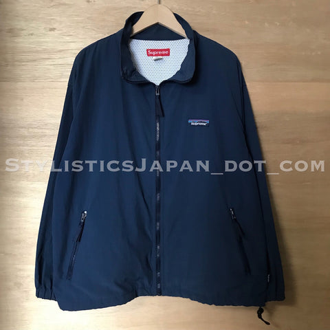 Supreme Vintage 'Patagonia' Nylon Zip-up Jacket Navy L