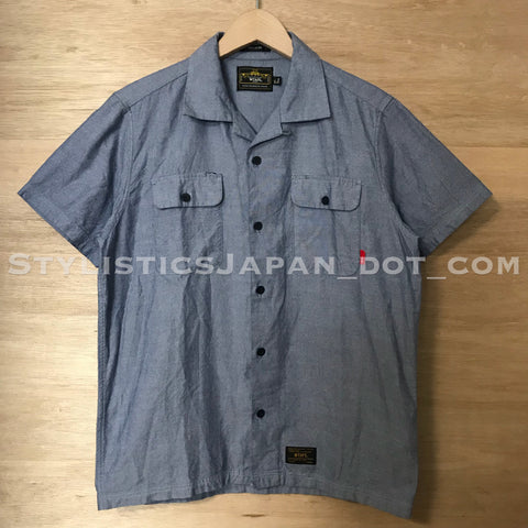 [S] WTaps Vatos Shirt S/S Blue