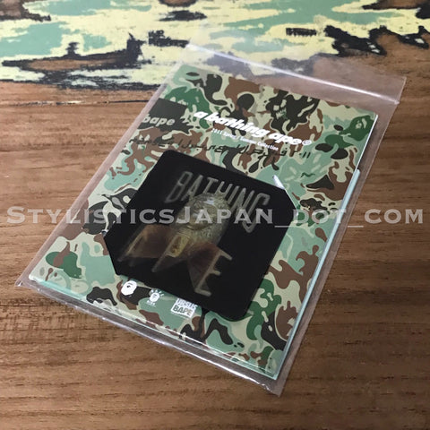 DS! A Bathing Ape Bape Hologram Velcro Patch