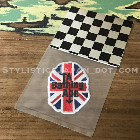 DS! A Bathing Ape Bape Head U.K. Patch
