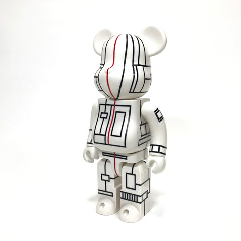 Futura x Medicom Toy World Wide Tour 400% Bearbrick White