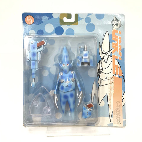 Mo Wax Unkle (Futura) x Ben Drury 1998 Pointman Figure Blue
