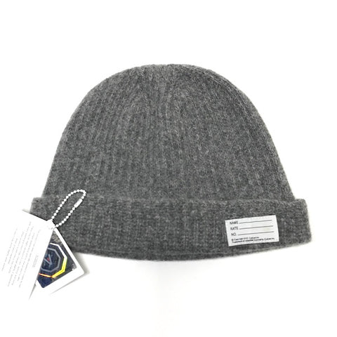 Visvim Wool Knit Beanie Grey